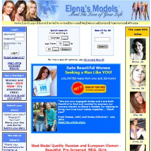 Elenas models marriage agency
