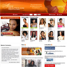 Africabeauties international dating system