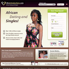 Afro international dating