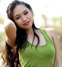 alluring-vietnam-babe-wearing-a-cool-green-dress