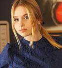 blonde-czech-girl-in-a-blue-dress