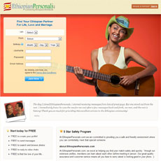 Ethiopia Personal Dating Site