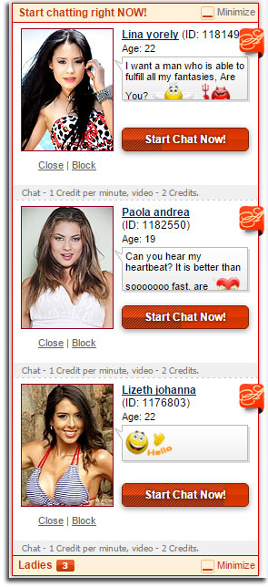 Chat with beautiful Latin mail order brides online