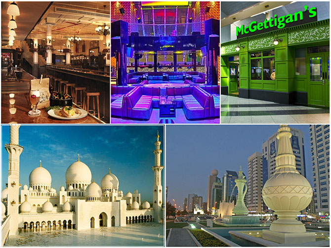 Attractions in Abu Dhabi, Dubai