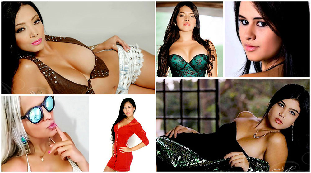 hot latin brides collage
