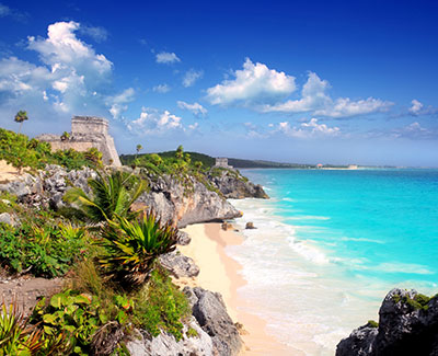 Tulum beach Mexican dating destination