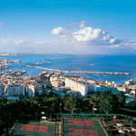 Bay of Algiers in Algeria
