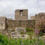 Byblos castle ruins in Lebanon