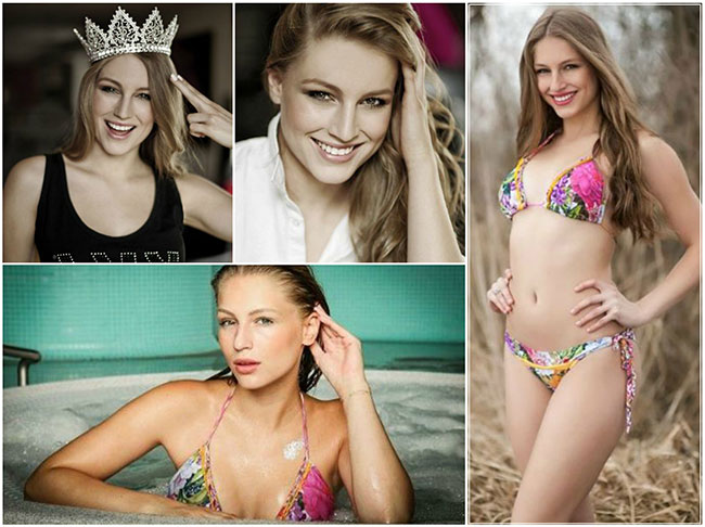 Charming and alluring Czech beauty queen Karolina Malisova