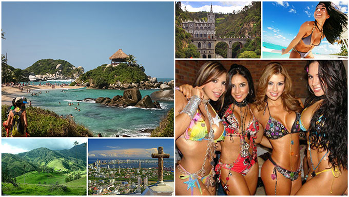 Colombian girls and places you need to visit