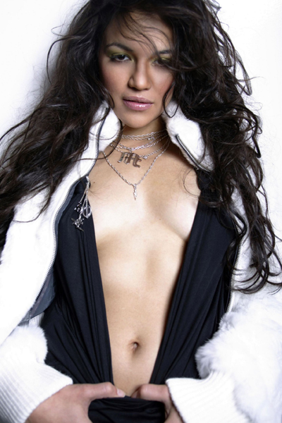 drop-dead gorgeous Michelle Rodriguez