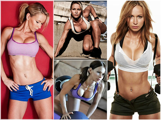 fitness and workout instructor zuzka light