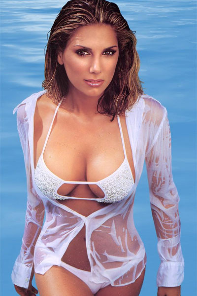 hot in the pool Daisy Fuentes
