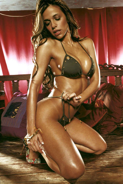 hot Vida Guerra in a seductive pose