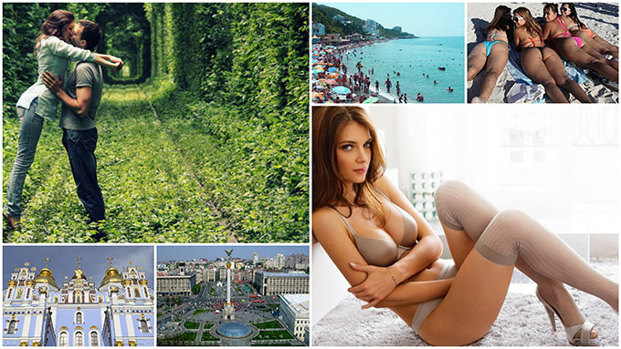 places in Ukraine to find foreign women