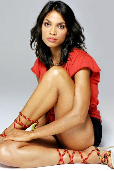 the lovely Rosario Dawson
