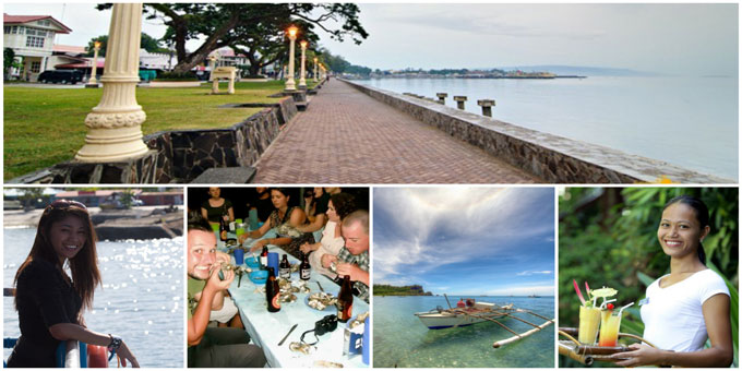 beautiful places and girls in Dumaguete, Philippines