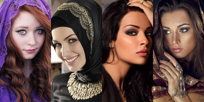 different beauties of Muslim women will attract you