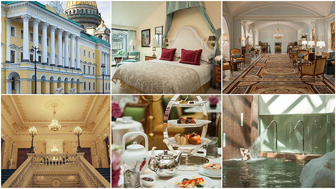 Luxurious Four Seasons Hotel, St. Petersburg Russia