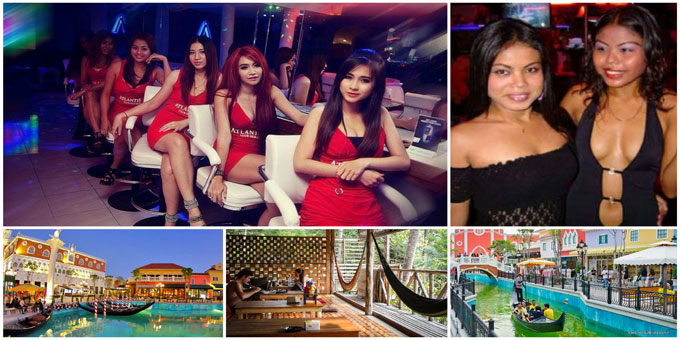 Hua Hin, Thailand sceneries and women