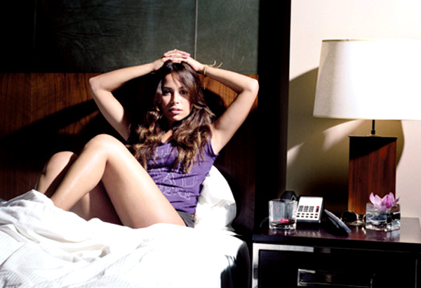 Zulay Henao in Bed