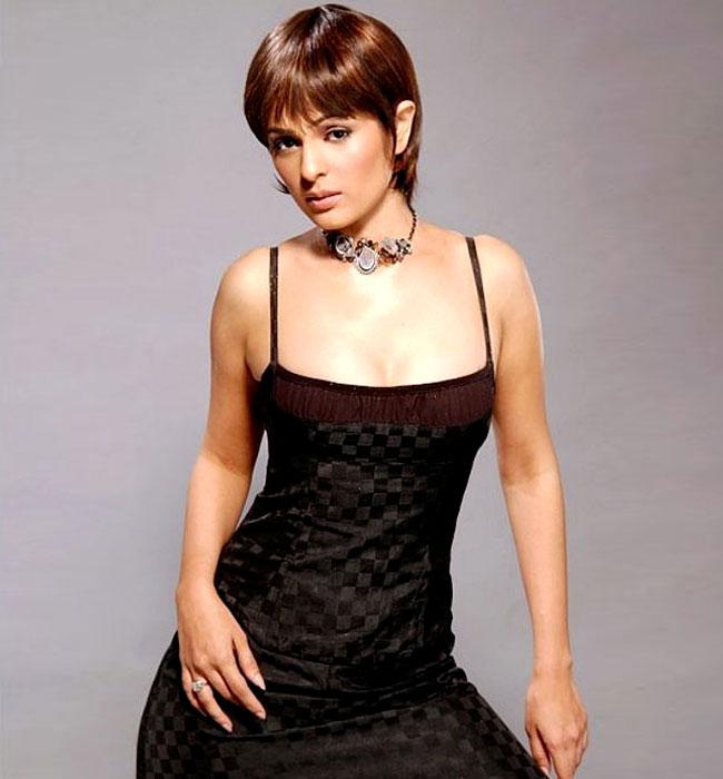 Anjana Sukhani - In A Black Dress