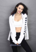 Chinese babe with a nice abs