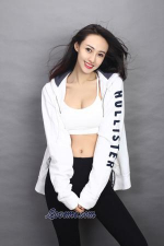 Chinese babe with nice abs