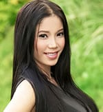 cute filipina girl with a sweet smile