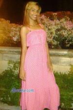 Dominican girl pretty in pink polkadot dress