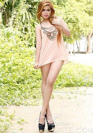 Filipina girl with nice legs