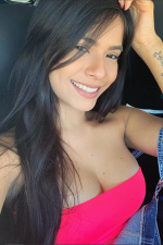 independent Dominican woman with a sweet smile