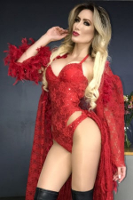 sexy blonde Peruvian girl