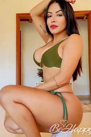 strong and beautiful Sao Paulo girl
