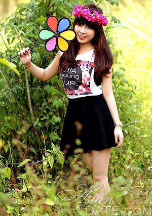Vietnamese nature girl