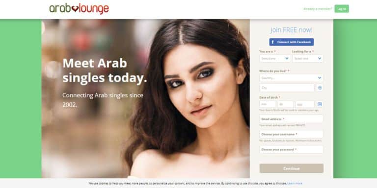 ArabLounge front page