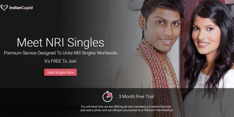 Indian Cupid front page