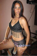 affectionate and loving Dominican girl