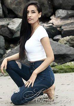 attractive Peru girl