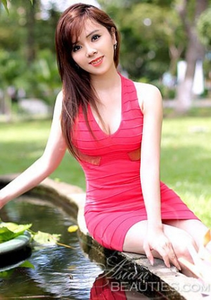 attractive Vietnamese bride
