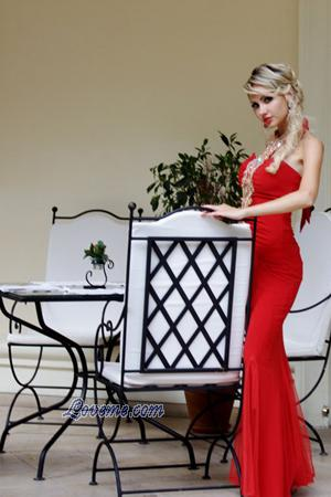 Belarus lady in red