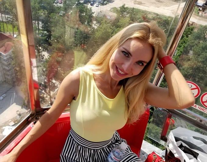 Blonde Anastasia girl