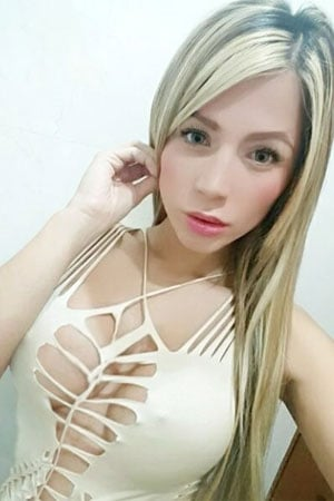busty blonde Colombian single