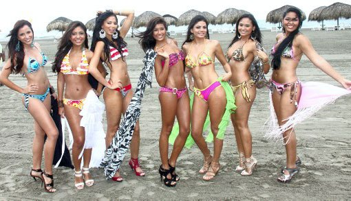 Cartagena beach girls