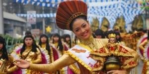 Cebu City parade Philippines