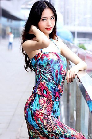 Chinese babe with aesthetic looks