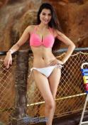 curvy Thai girl in bikini