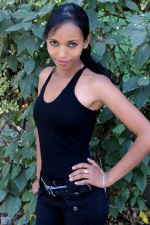 cute and sweet Ethiopian babe