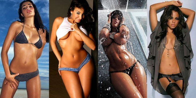 four of the hottest Cuban women