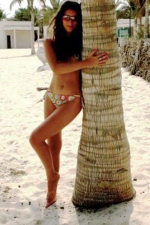hot Almaty bikini babe